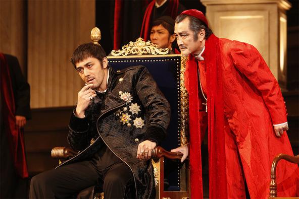 【写真・コメントあり】彩の国シェイクスピア・シリーズ第35弾 『ヘンリー八世』初日開幕! (1)