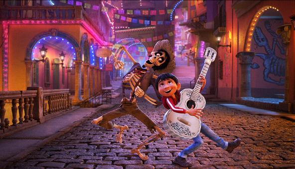 金曜ロードSHOW!『リメンバー・ミー』場面(1) (c)Disney/Pixar