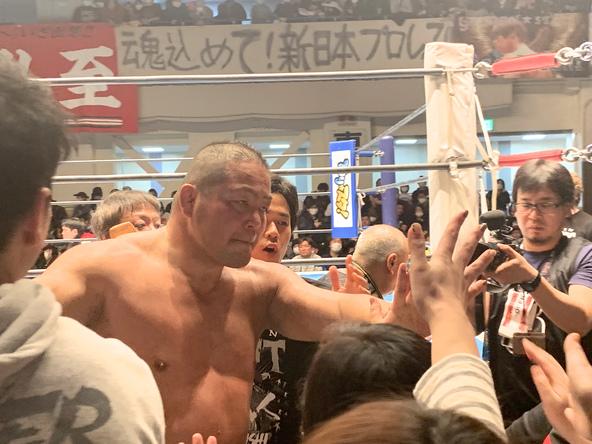 中西学、引退!新日本プロレスの歴史を繋いだ野人 (c)photograph by Yasutaka Nakamizo