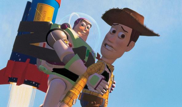 金曜ロードSHOW!『トイ・ストーリー』場面(1) (c)Disney/Pixar