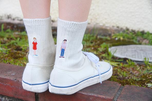 音を届ける靴下!? あさぎーにょが新曲「ミラーボールはいらない」をダウンロードできるオリジナル靴下を発売