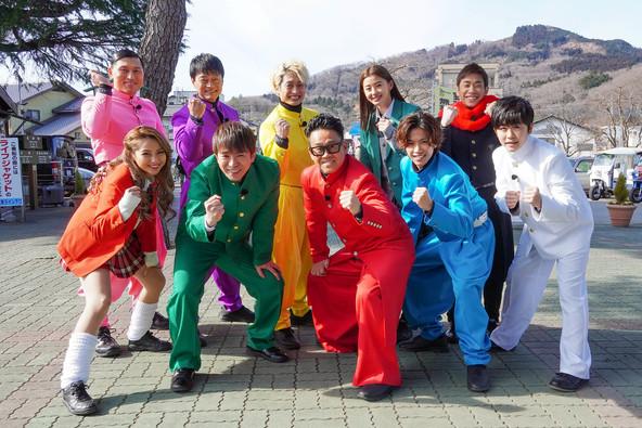 『町まるごと宝探し!THE OPEN』出演者の皆さん (c)テレビ東京