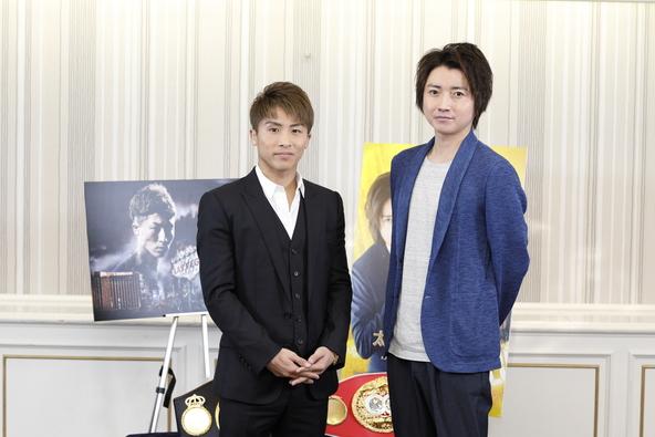 世界王者・井上尚弥と俳優・藤原竜也がWOWOWコラボ企画で初対談!ボクシングと演劇の共通点について語る! (1)