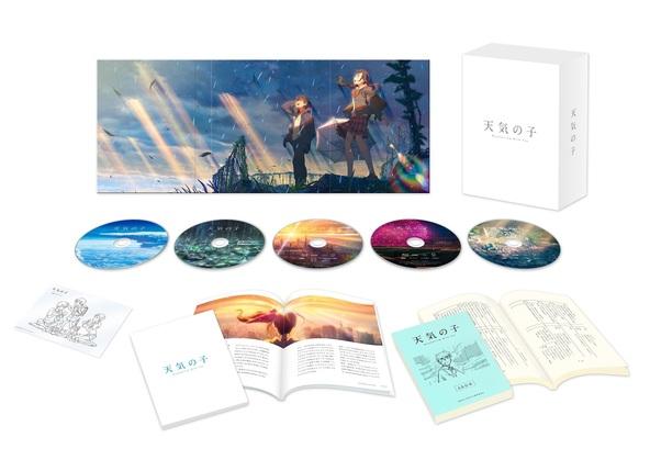 『天気の子』Blu-ray コレクターズ・エディション展開図 (C)2019「天気の子」製作委員会