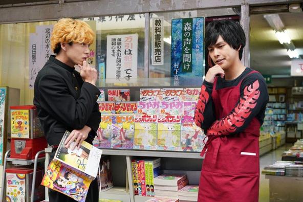 賀来賢人が公開した、ドラマ『今日から俺は!!』柳楽優弥との第3話シーンカット