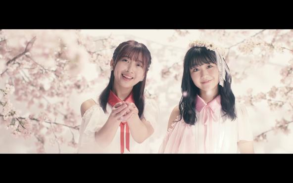 SUPER☆GiRLS「忘れ桜」のミュージックビデオより(1)