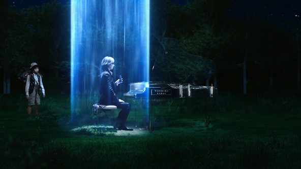 YOSHIKIがあの名曲を超絶アレンジで披露!その演奏に心を奪われたUFOにピアノもろとも連れ去られる!?『ワンダ』新CM