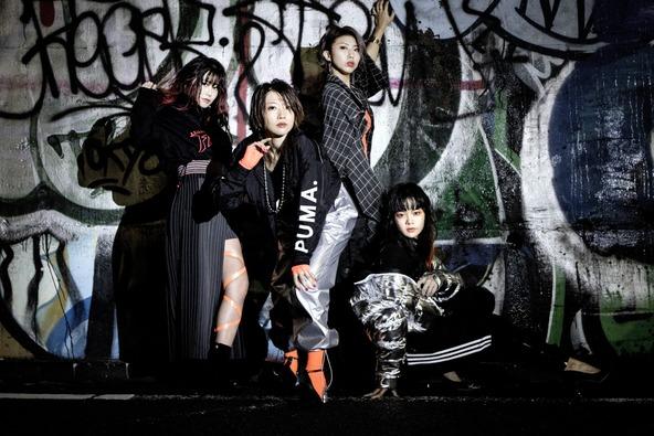 【ガールズロックバンド「LAZYgunsBRISKY」】3ヶ月連続デジタルリリースを締めくくるラブソング、「Dramatic」が本日3月9日(火)より配信スタート!!MVも公開!