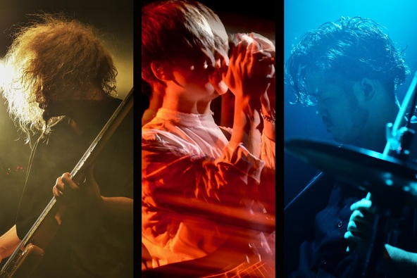 3ピースロックバンドCIVILIAN、3月13日(金)に無観客ライブを「17 Live」で生配信 (1)