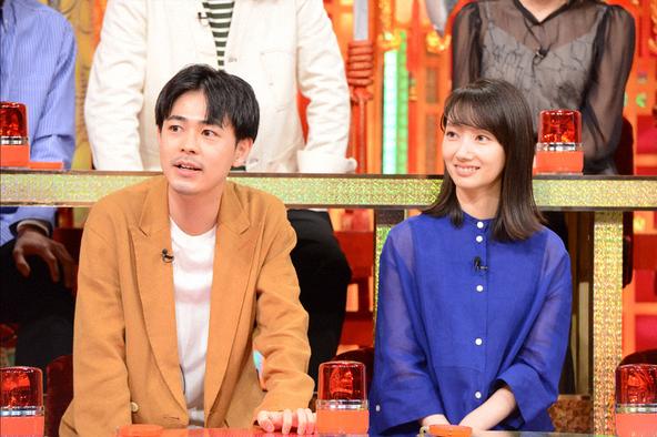 成田凌、波瑠 (c)NTV