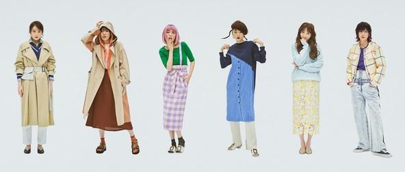 """ウィメンズブランド「キャスト:」  飯豊まりえが18変化で現代女性の多様性を表現  """"共感""""を図ったマーケティングを実施 (1)"""