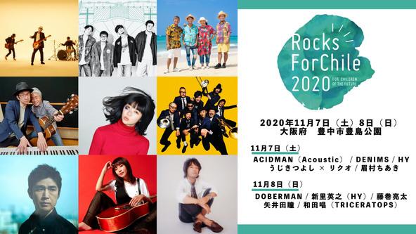 Rocks ForChile(ロックス・フォーチル )、振替公演に全アーティストが出演! (1)