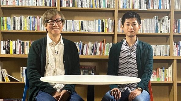 『SWITCHインタビュー 達人達(たち)』しりあがり寿×田丸雅智(1) (c)NHK