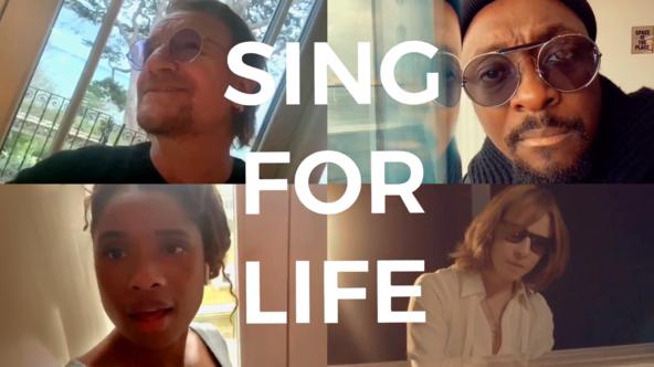 ボノ(U2)、ウィル・アイ・アム、ジェニファー・ハドソンが歌い、YOSHIKIがピアノを演奏!世界を励ますコラボ曲が発表に