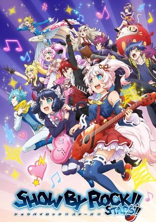 TVアニメ新シリーズ『SHOW BY ROCK!!STARS!!』キービジュアル (C)2012,2020 SANRIO CO.,LTD. SHOWBYROCK!!製作委員会M