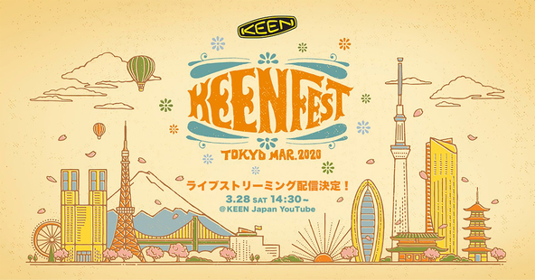 KEENFEST TOKYO MARCH 2020