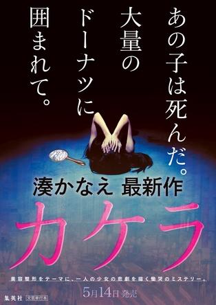 「あの子は死んだ…」湊かなえ、美容整形をテーマに一人の少女の悲劇を描く慟哭のミステリー『カケラ』発売決定