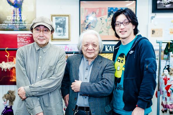 (左から)天野天街、結城一糸、丸山厚人 (c) (撮影:塚田史香)