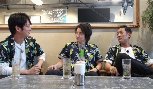 (左から)溝端淳平、藤原竜也、中村勘九郎 (C)「藤原竜也の三回道」製作委員会