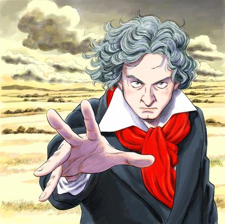 「ベートーヴェンを聴こう!」キャンペーン メインビジュアル