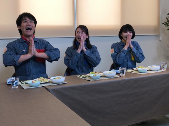 『あぐり王国北海道NEXT』絶品料理を前に、「いただきます!」 (c)HBC