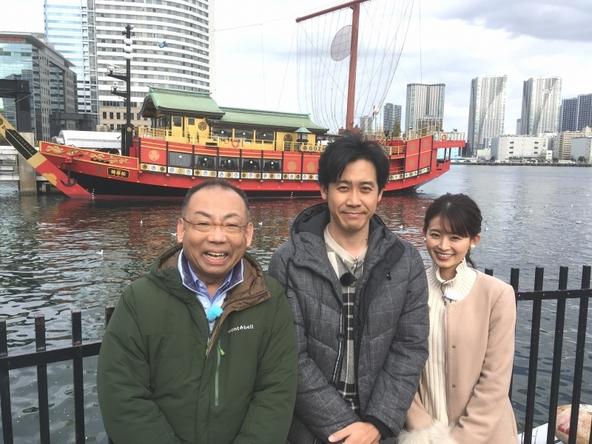 『1×8いこうよ!』YOYO'S(大泉洋、木村洋二)、大家彩香(STVナウンサー) (c)STV