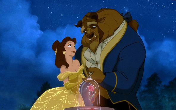 金曜ロードSHOW!『美女と野獣』場面(1) (c)Disney Enterprises, Inc.