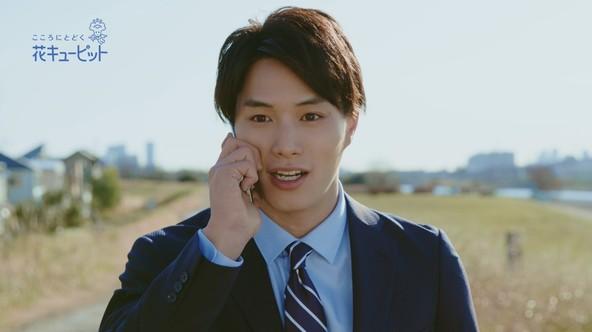 花キューピットの新TVCM「遠くのあの人へ編」公開 鈴木伸之さんの素顔が見られるメイキング映像も同時公開 (1)