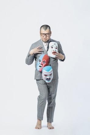 吉本芸人のオークション企画「NANBOYANEN」スタート!第一弾として野性爆弾・くっきー!の作品を出品 (1)