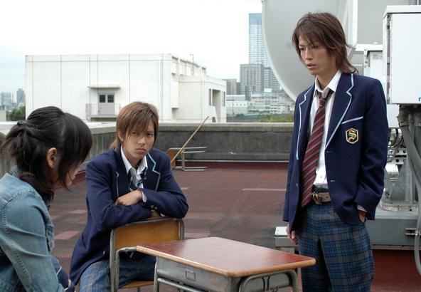 「野ブタ。をプロデュース」亀梨和也(KAT-TUN)、山下智久 (c)NTV