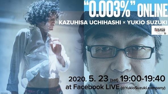 鈴木ユキオプロジェクト『0.003% ONLINE』