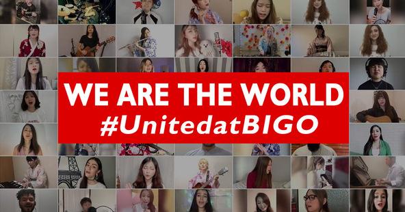 広瀬香美も参加、ライブ配信アプリ「BIGO LIVE」の世界中のライバー105人で応援動画「We Are the World」で世界に元気を