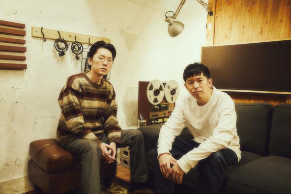 Keishi Tanaka×Kan Sano(レコーディング現場) (c)撮影=山川哲矢