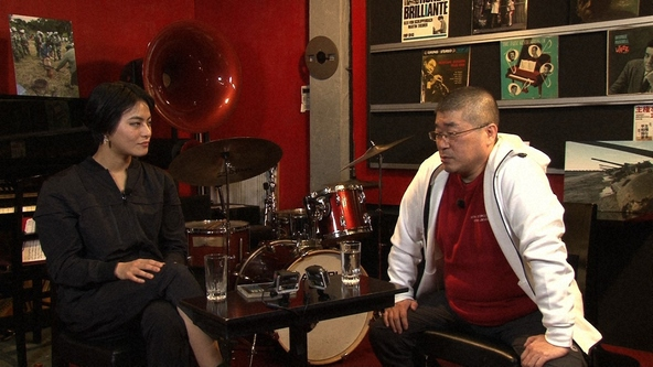 『SWITCHインタビュー 達人達(たち)』伊勢崎賢治×菅原小春(1) (c)NHK