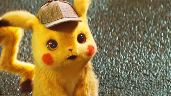 金曜ロードSHOW!『名探偵ピカチュウ』場面(1) 2019 Legendary and Warner Bros.Entertainment, Inc.All Rights Reserved. (C)2019 Pokemon.