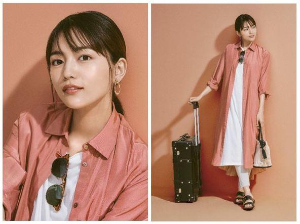 Qoo10特集 「May Style with川口春奈」OPEN「キレイになろう。今だから。」 (1)