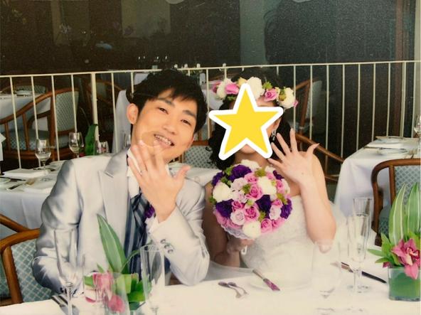 石田明(ノンスタイル)が公開した結婚式の写真