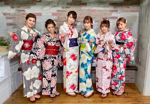 『TiARY プレス』 明日花キララが番組で華やか浴衣姿を披露、「可愛すぎる」「美しい」と大反響