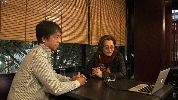 『SWITCHインタビュー 達人達(たち)』石井竜也×柳澤寿男(1) (c)NHK