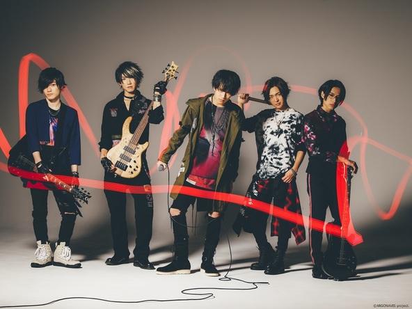SHiNNOSUKE(ROOKiEZ is PUNK'D/S.T.U.W)、UZ(SPYAIR/S.T.U.W) 書き下ろし GYROAXIA 1st Single「SCATTER」本日発売! (1)  (C)ARGONAVIS project.