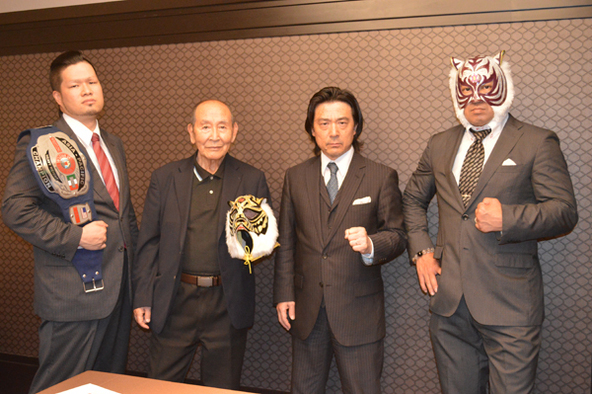 初代タイガーマスクRJPW15周年記念大会正式決定!6月26日(金)無観客試合で団体初のインターネット配信!