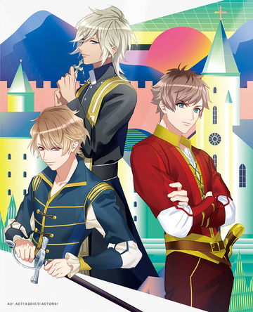 TVアニメ『A3!』Blu-ray&DVD 第2巻ジャケット  (C)Liber Entertainment Inc. All Rights Reserved.