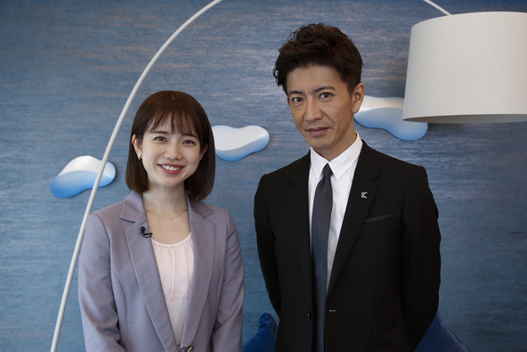 『BG〜身辺警護人〜』木村拓哉 弘中綾香 (c)テレビ朝日