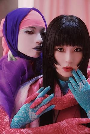 DAOKO×アオイヤマダがコラボ発信。Beauty Square ダヲアオヨロズ ショップ START (1)