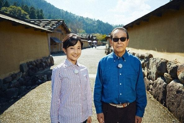『ブラタモリ』タモリ、林田理沙アナウンサー (c)NHK
