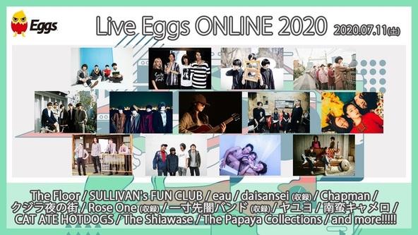 『Live Eggs ONLINE 2020』