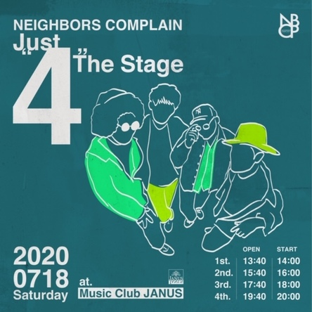 """『NBCP Presents [Just """"4"""" The Stage]』"""