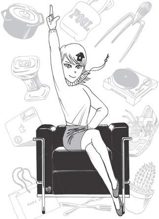 連続ドラマ単独初主演の矢作穂香が決定!『左ききのエレン』著者、幻の名作『おしゃ家ソムリエおしゃ子』ドラマ化で増刷決定! (1)