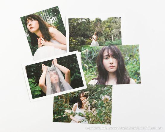 ポストカード (C)YUI ARAGAKI NYLON JAPAN ARCHIVE BOOK 2010-2019 PHOTO EXHIBITION