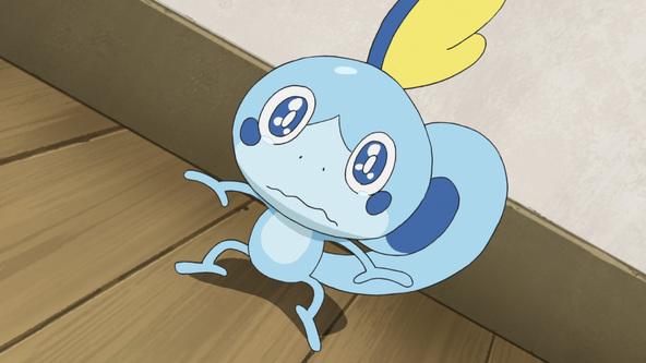 泣き虫で臆病なみずとかげポケモン、メッソンがついに登場! (C) Nintendo・Creatures・GAME FREAK・TV Tokyo・ShoPro・JR Kikaku (C) Pokemon